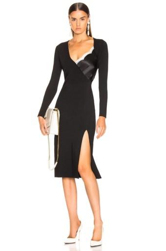 ALTUZARRA Gianni Black Dress