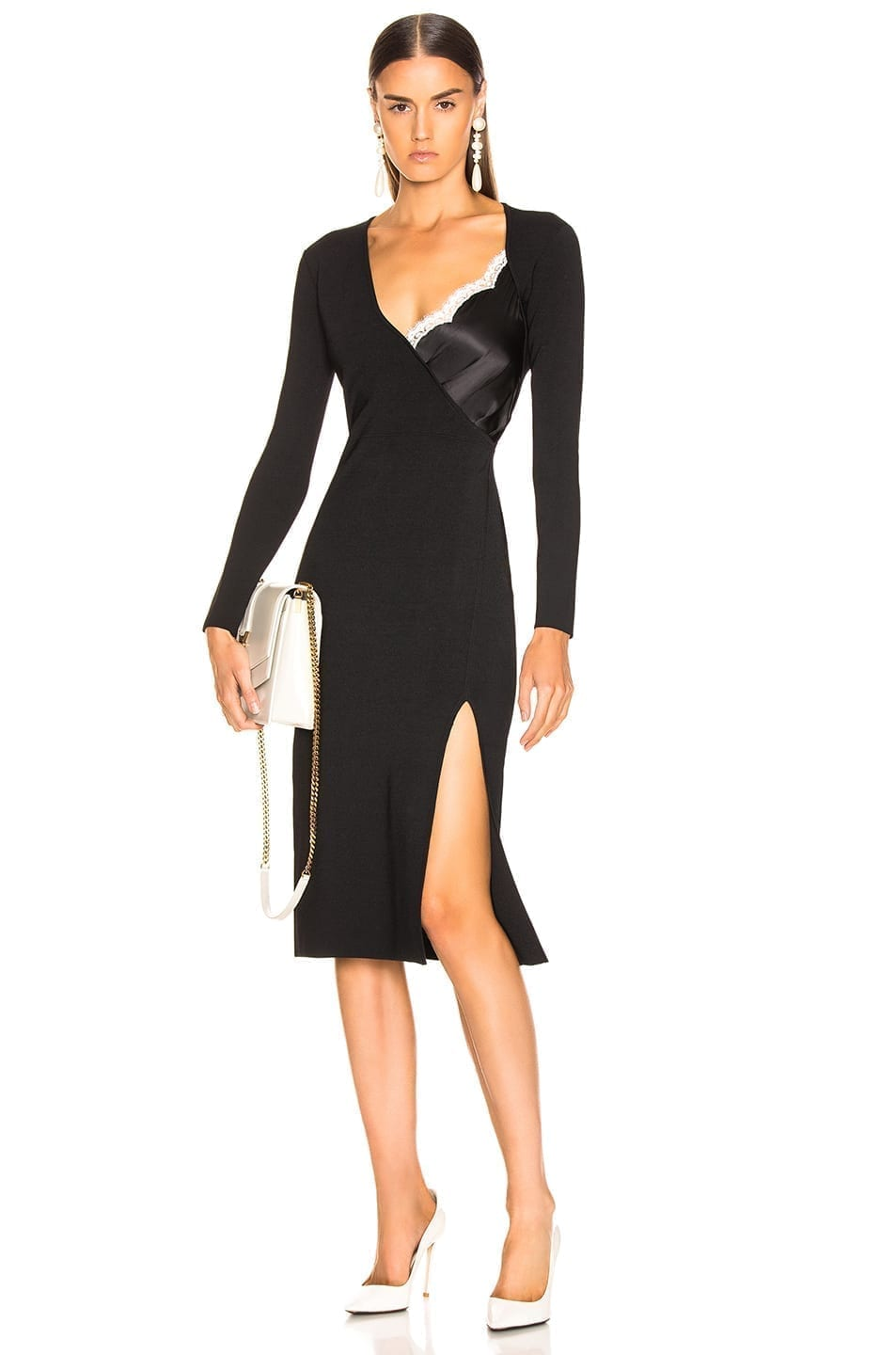 ALTUZARRA Gianni Black Dress