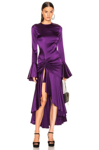 CAROLINE CONSTAS Monique Purple Gown