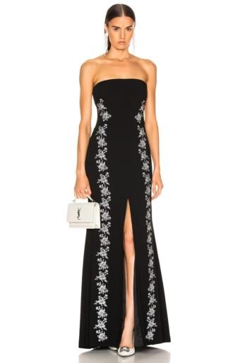 CINQ A SEPT Eva Black / Ivory Gown