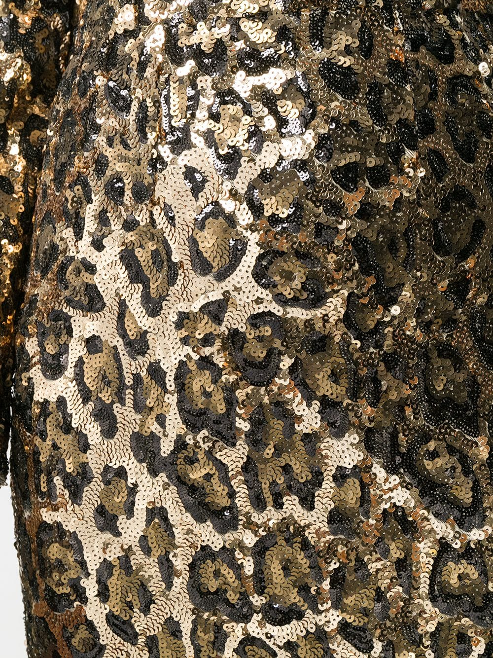 DOLCE   GABBANA Sequined Mini Leopard Printed Dress - We Select Dresses aa55b2f40