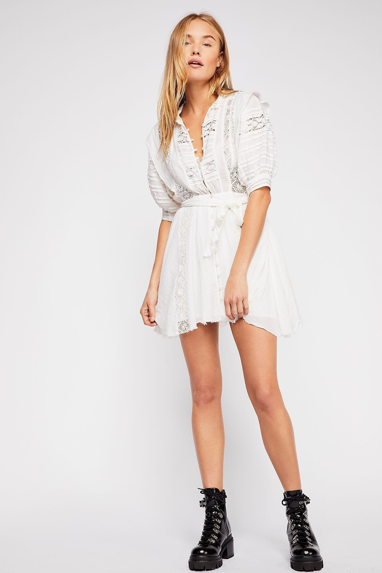 f903cd04f1 FREEPEOPLE FP One Sydney Ivory Dress - We Select Dresses