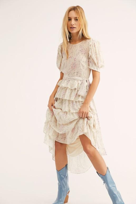 FREEPEOPLE Roxanne Biscotti Dress