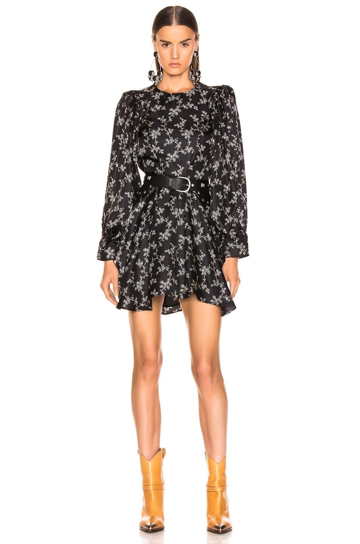 ISABEL MARANT Reone Black Dress