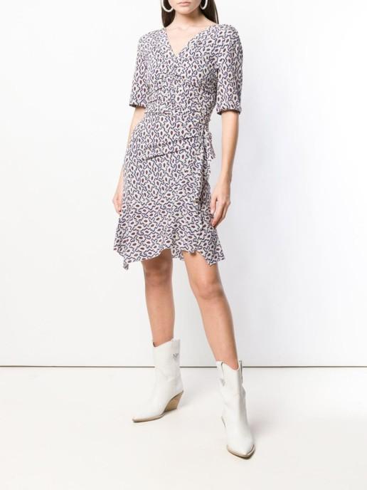 ISABEL MARANT Wraped Short White Dress