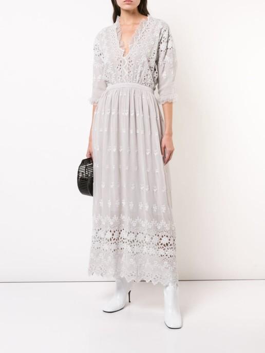 LOVE SHACK FANCY Delfina Anchor Dress