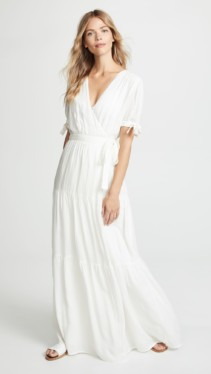 MELISSA ODABASH Emily Cream Dress