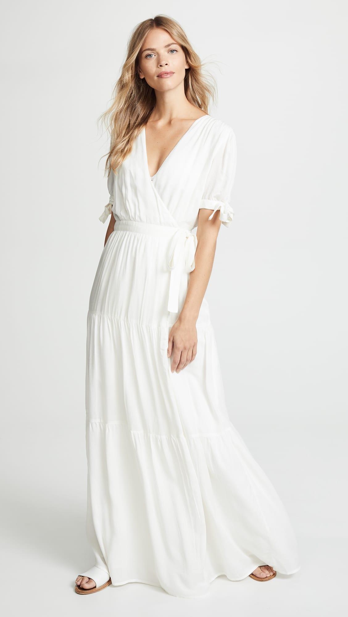 MELISSA ODABASH Emily Cream Dress