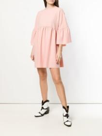 PINKO Crepe Pink Dress