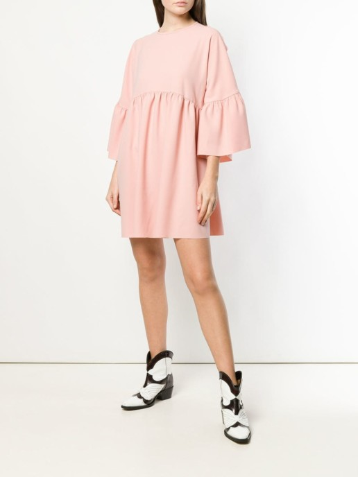 PINKO Crepe Pink Dress