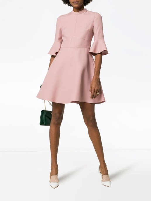 VALENTINO Crepe Couture Pink Dress