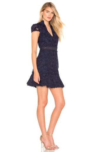 ALICE + OLIVIA Diona Sapphire Dress