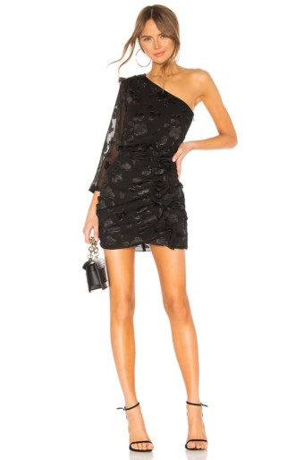 ALLSAINTS Maddie Black / Gold Dress