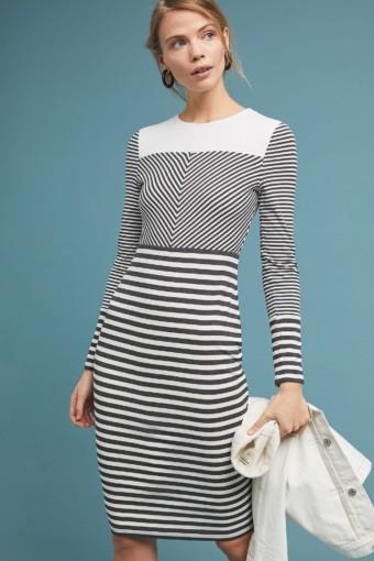 BAILEY 44 Edith Striped Grey Dress