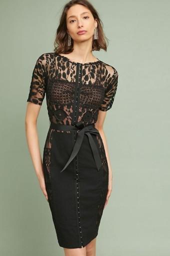 BYRON LARS Byron Lars Carissima Sheath Black Dress