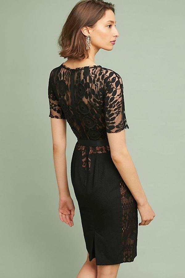b2572bb8 BYRON LARS Byron Lars Carissima Sheath Black Dress - We Select Dresses