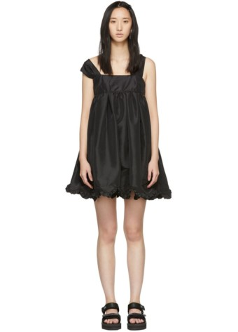 CECILIE BAHNSEN Mini Pil Black Dress