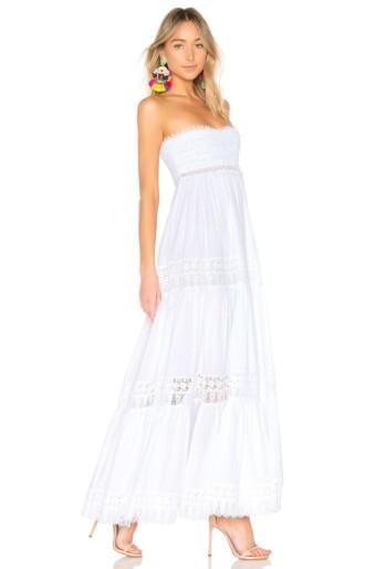 CHARO RUIZ IBIZA Charo Ruiz Zoe White Dress