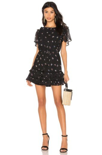 CLEOBELLA Freesia Black Dress