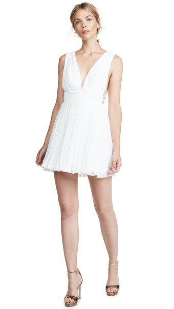 FAME AND PARTNERS The Briella White Dress