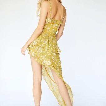 For Love Lemons Asymmetrical Mustard Dress We Select Dresses