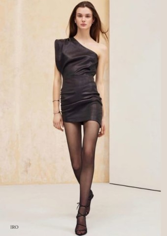 Feel Fiercely Chic In Luxurious Leather Dresses