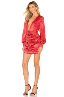 HOUSE OF HARLOW 1960 x REVOLVE Nellie Red Dress
