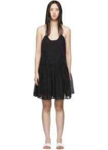 ISABEL MARANT ETOILE Amelie Black Dress
