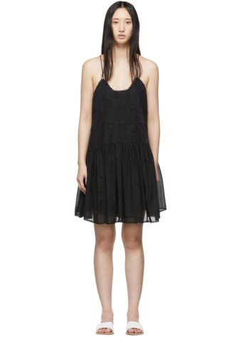 ISABEL MARANT ETOILE Amelie Black Dress
