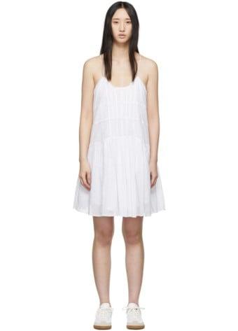 ISABEL MARANT ETOILE Amelie White Dress