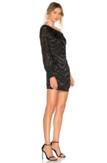 L'ACADEMIE The Jess Mini Black Dress