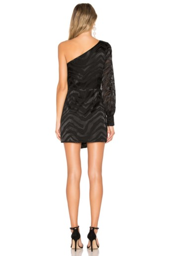 L'ACADEMIE The Jess Mini Black Dress