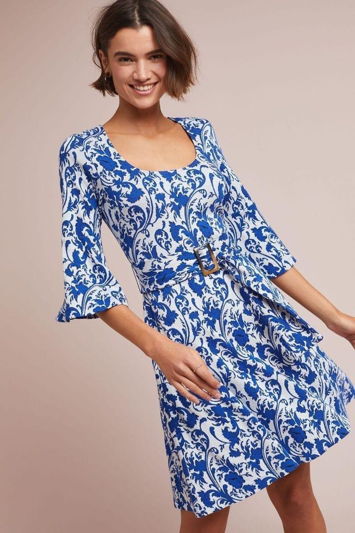 MAEVE Leonie Blue Dress