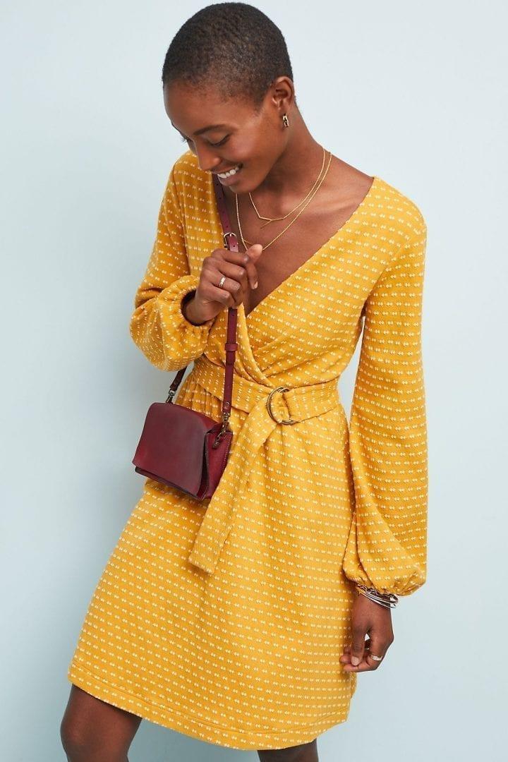 MAEVE Malta Yellow Dress