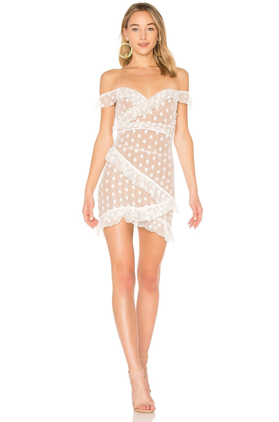MAJORELLE Bandit White Dress