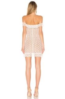 MAJORELLE Bandit White Dress
