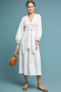 MARA HOFFMAN Vivica White Dress