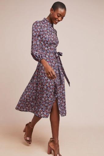 ML MONIQUE LHUILLIER Azaela Shirt Neutral Dress