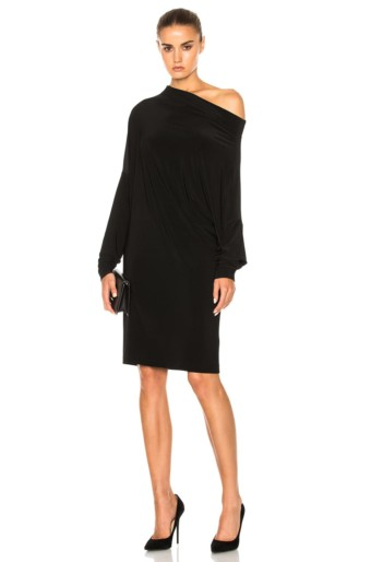 NORMA KAMALI All In One Black Dress