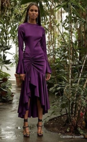 Demand Attention In Striking Purple Dresses