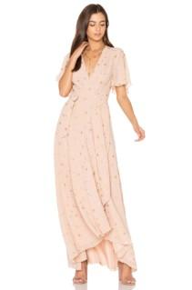 PRIVACY PLEASE Krause Blush Dress