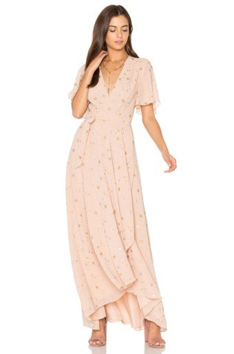 PRIVACY PLEASE Krause Blush Dress