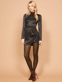 REFORMATION Blanch Black Dress