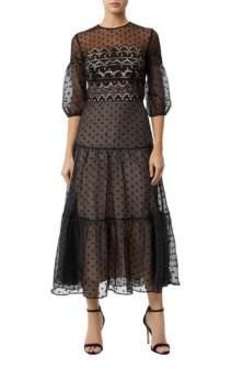 TEMPERLEY LONDON Prix Black Dress