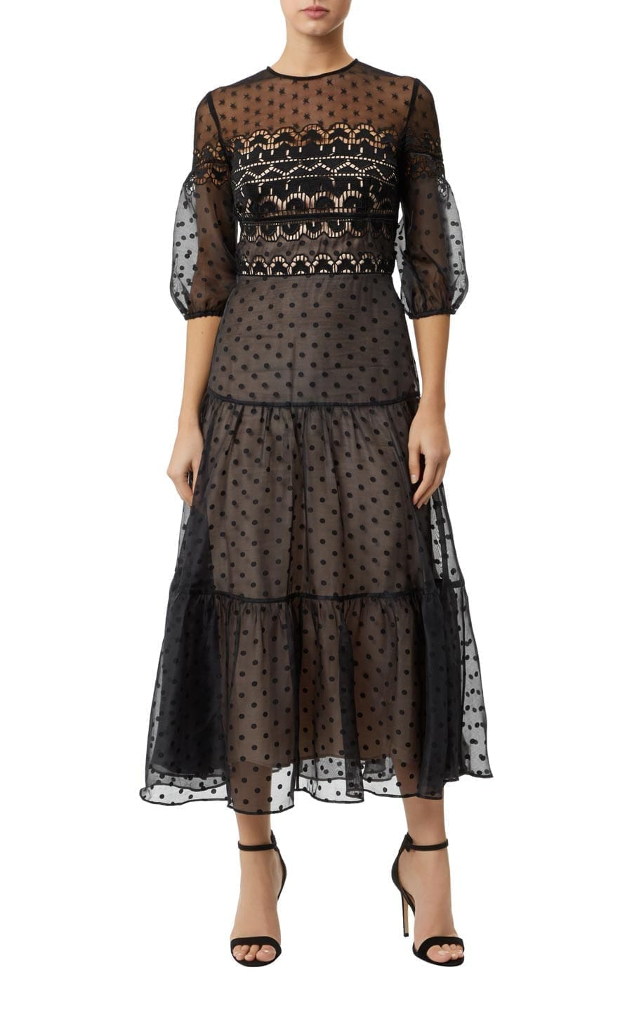 TEMPERLEY LONDON Prix Black Dress