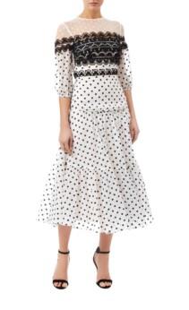 TEMPERLEY LONDON Prix Midi White Dress