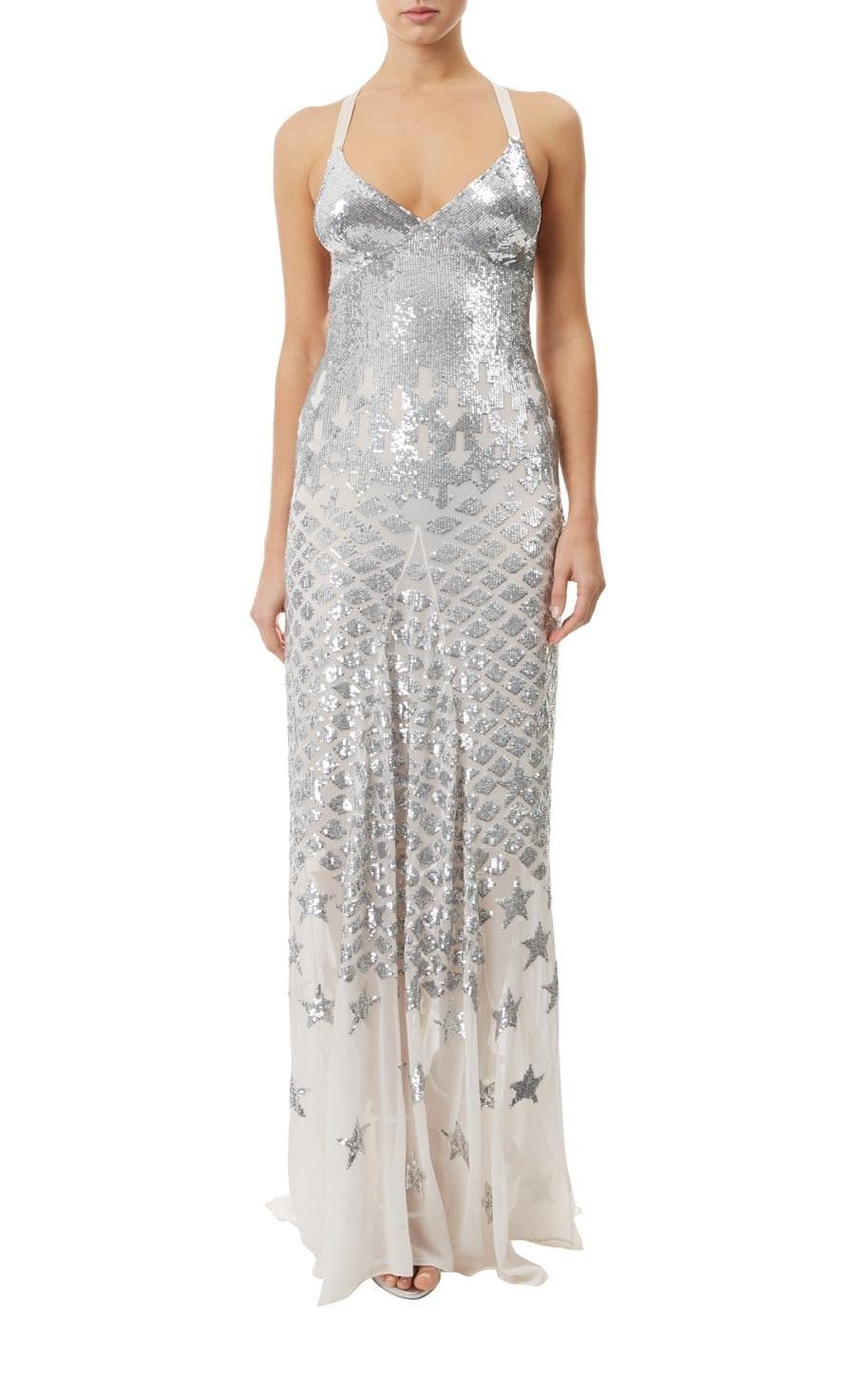 TEMPERLEY LONDON Starlet Eggshell Dress