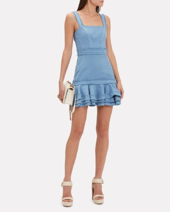ALEXIS Judith Mini Blue Dress