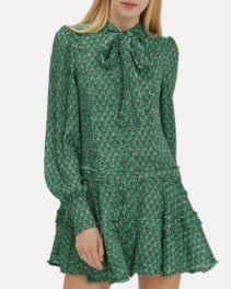 ALEXIS Monika Mini Teal Dress