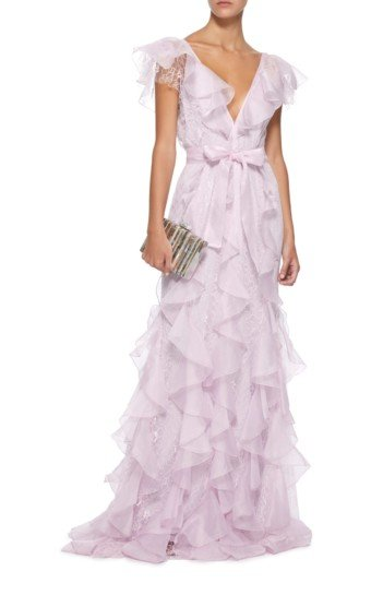 ALICE MCCALL My Baby Love Lace Purple Gown